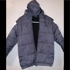 Michael Jordan Grey kids jacket size 10-12